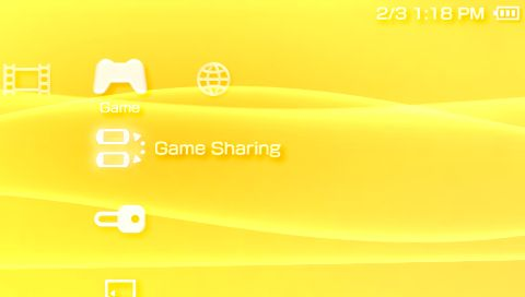 The Game Sharing Option
