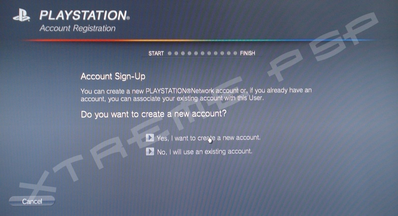how to open a new psn account