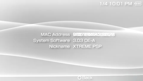 Firmware 3.03 OE-A