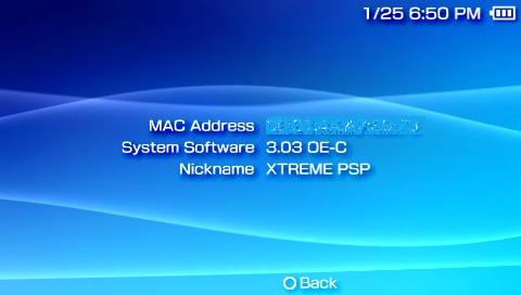 Firmware 3.03 OE C