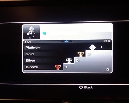 PS3 Trophy - Gamer Card