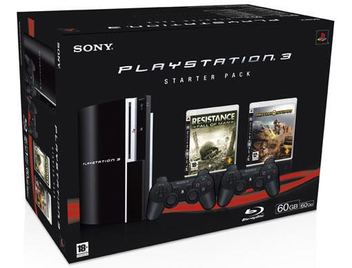 PS3 Statrer Pack