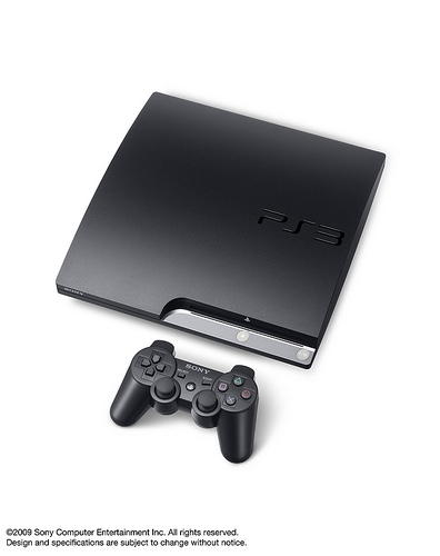PS3 Slim - Top