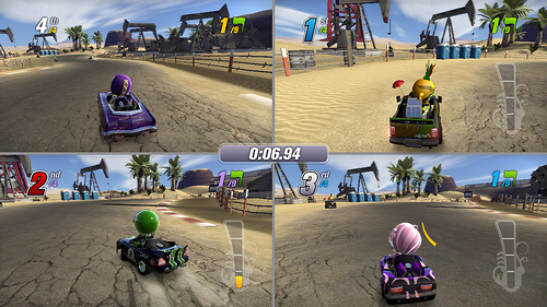 ModNation Racers Split-Screen Information | XTREME PS3