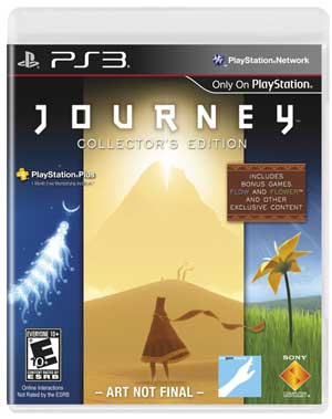 Journey - Collector's Edition Box Art (Not Final)