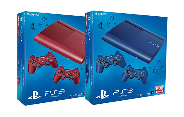 Red and Blue PS3