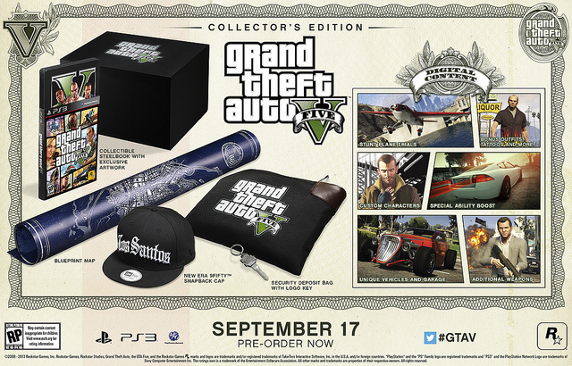 GTA V - Collector's Edition