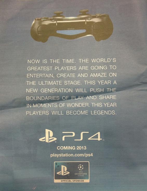 Metro PS4 Advert