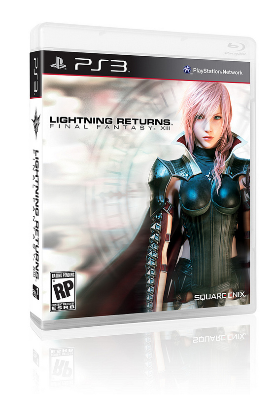 Lightning Returns - Final Fantasy XIII NA Box Art