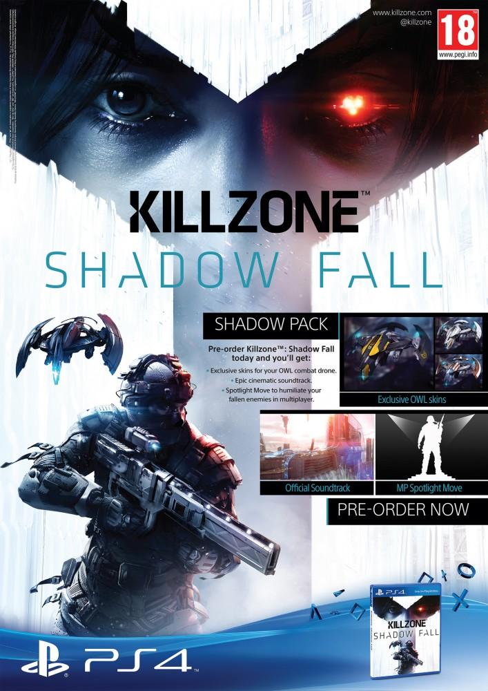 Killzone Shadow Fall Pre-Order Bonuses