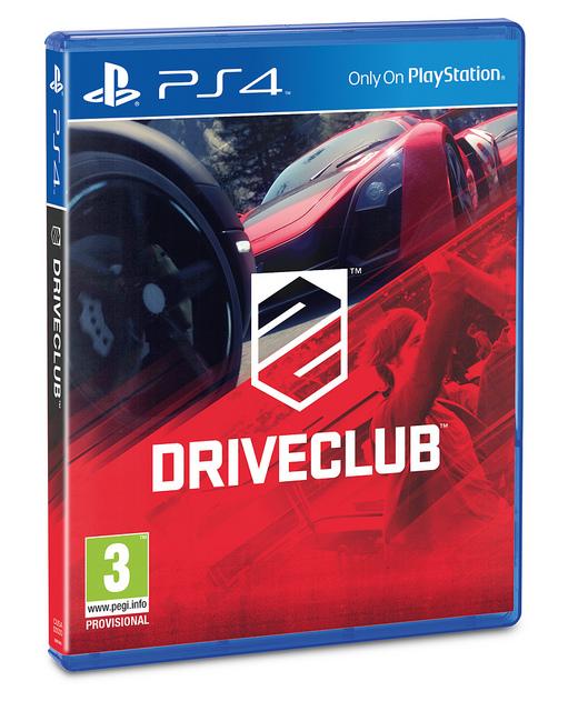 DriveClub Box Art