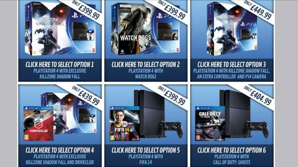 GAME PS4 Bundles