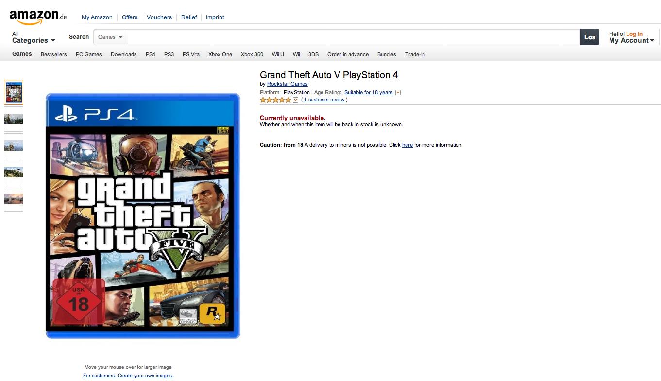 GTA V Coming to PS4? Amazon de Thinks So | XTREME PS3
