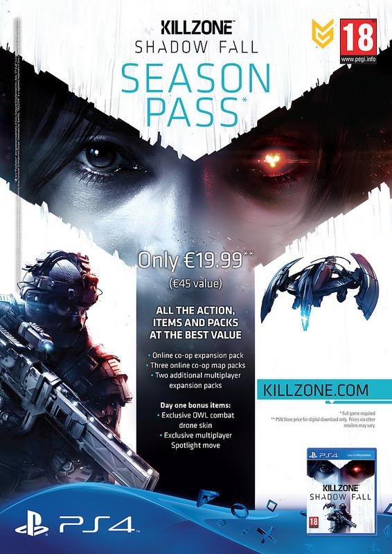 Killzone Shadow Fall Season Pass
