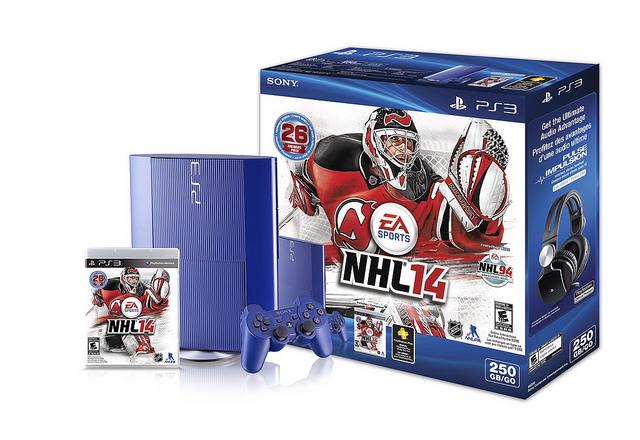 Azure Blue NHL 14 PS3