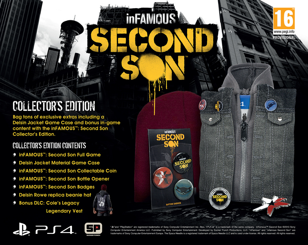 inFamous Second Son Collectors Edition EU