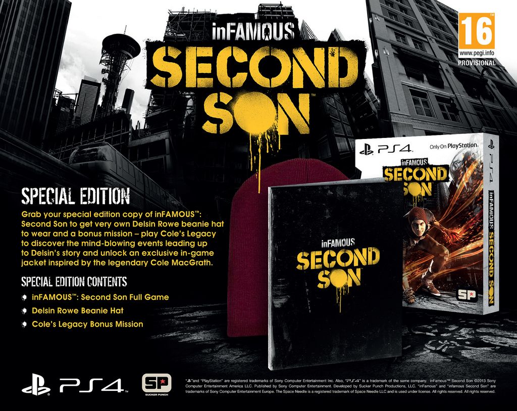 inFamous Second Son Limited Edition EU
