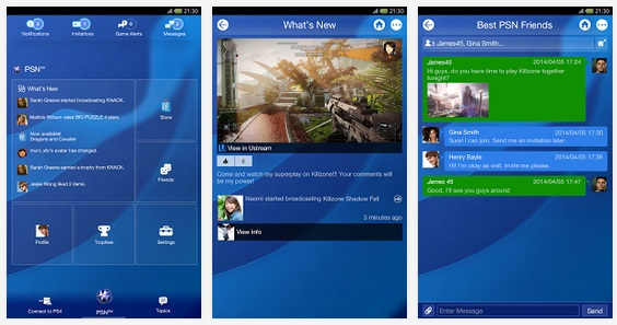 PS4 Android App
