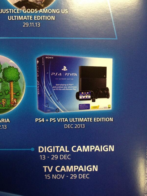 PS4 and PS Vita Ultimate Bundle