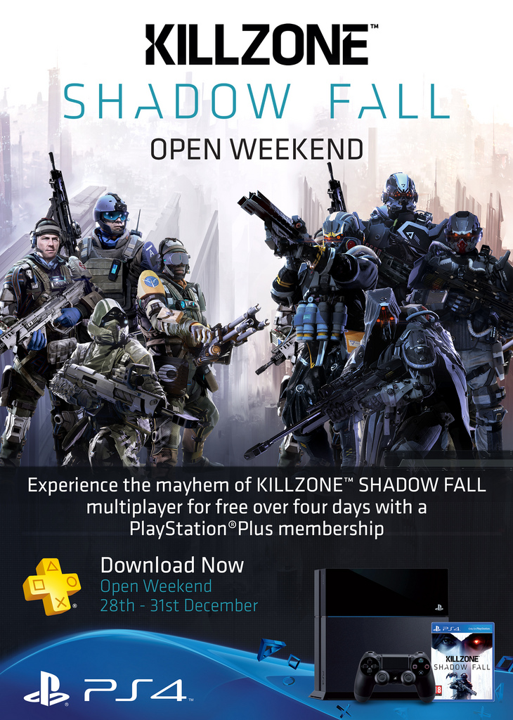 Killzone Shadow Fall Open Weekend