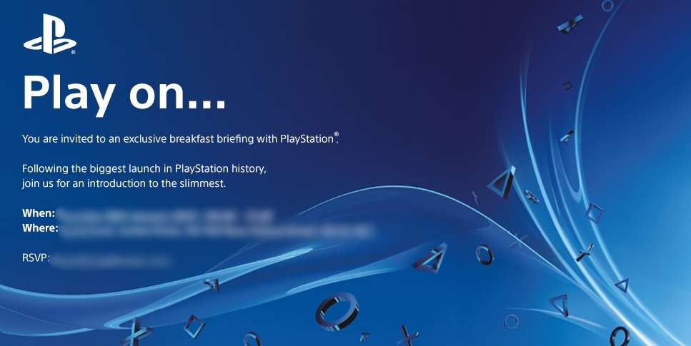 Sony Slim Launch