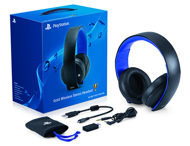 PS4 Wireless Headset (b)