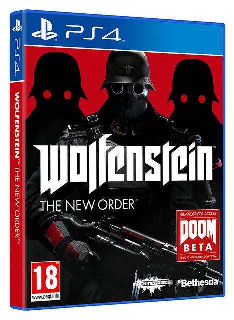 Wolfenstein New Order Boxart