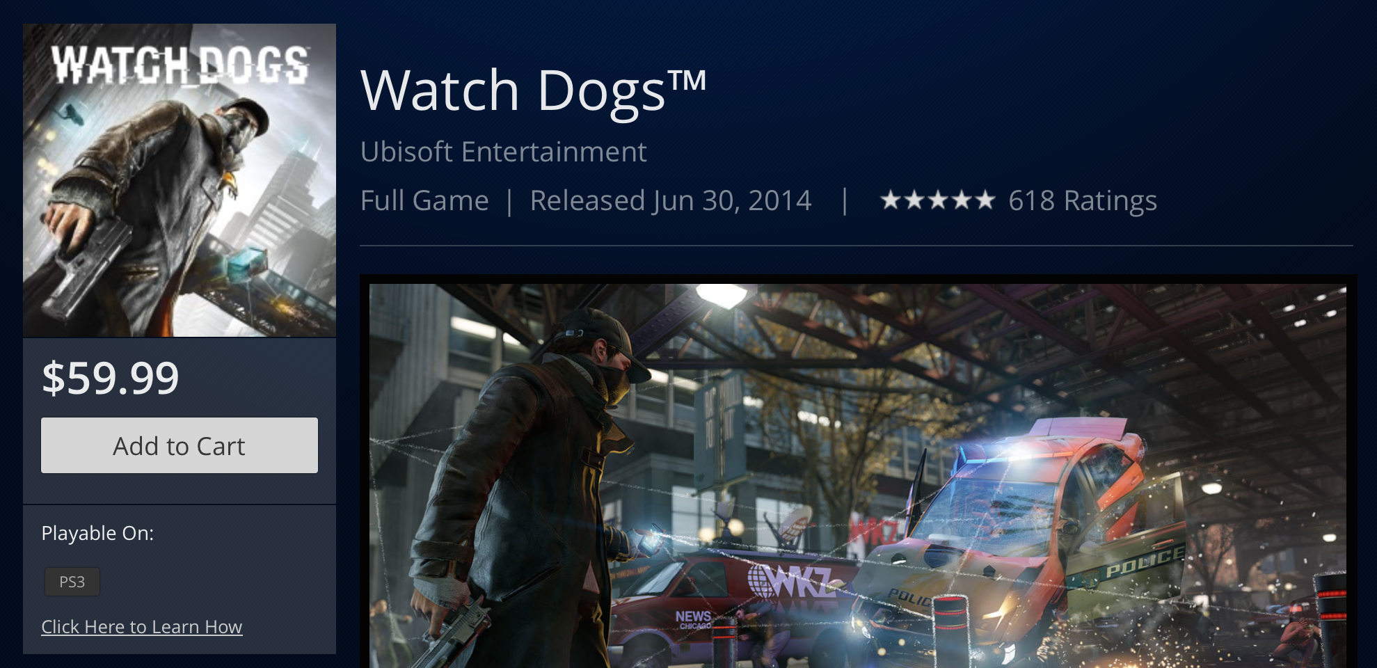 Watch_Dogs Release Date