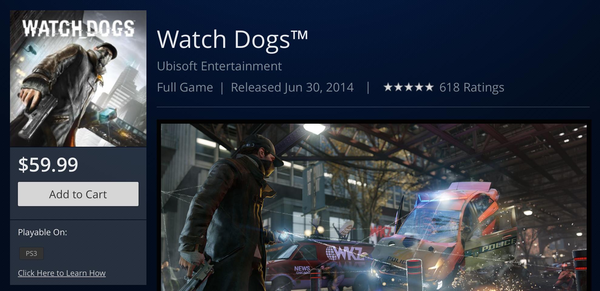 Watch_Dogs Release Date