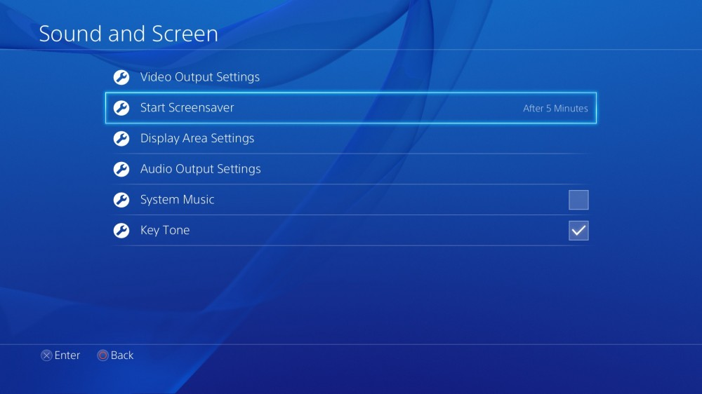 PS4 Firmware v1.70 - Screensaver