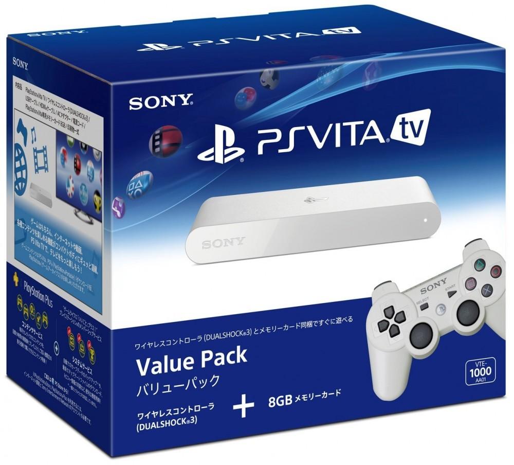 PS Vita TV Value Pack