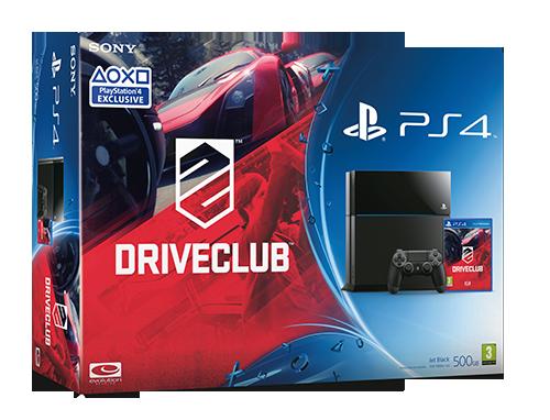 DriveClub PS4 Bundle