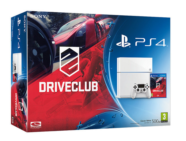 DriveClub White Bundle
