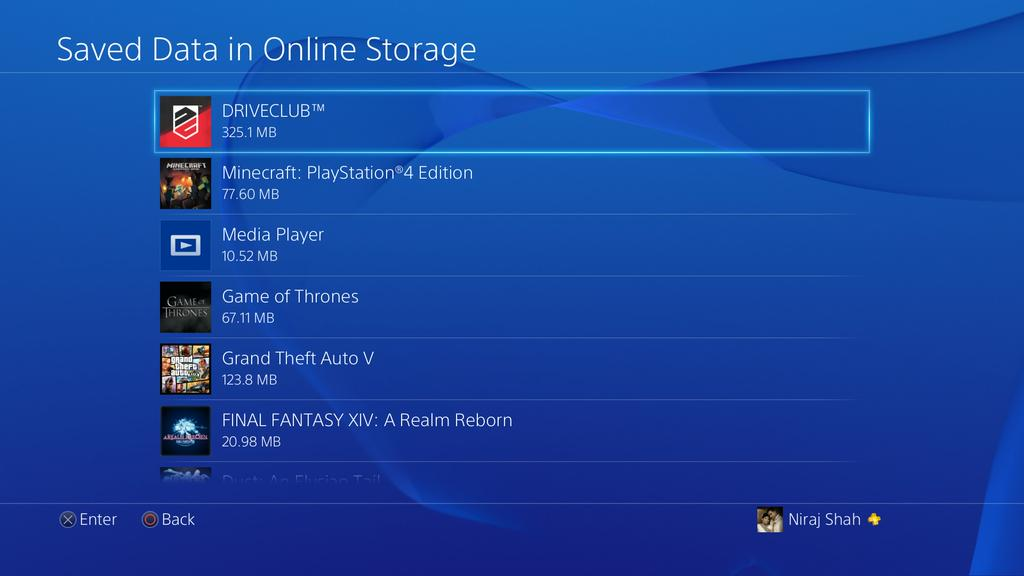 It S About Time Sony Considered Increasing The Cloud Storage Limit On Ps4 At Least To Something Decent Like 5gb A Common Issue With Others