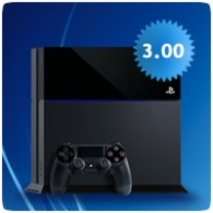 PS4 Firmware 3.00