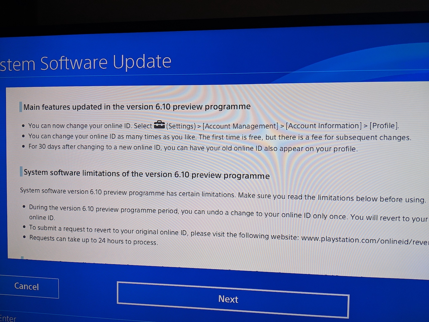 PS4 System Software Ver  6 10 (Beta) | XTREME PS3